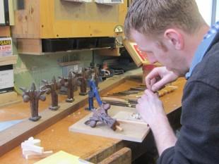 Carving Erddig