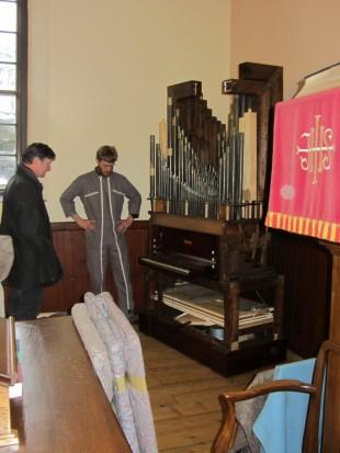 William Allen organ