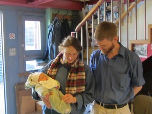 baby emile visits the workshop1