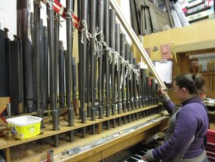 abigail-testing-the-trumpet-from-the-hill-organ-at-spilsby-1