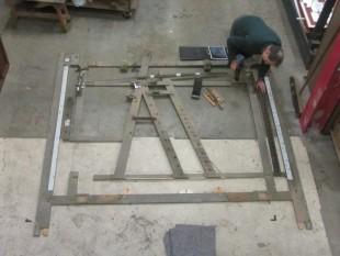 Edward repairing Great Tew ground frame1