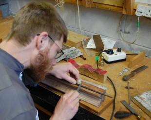 Guillaume restoring pipework