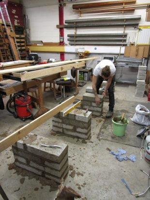 joe-building-new-casting-bench