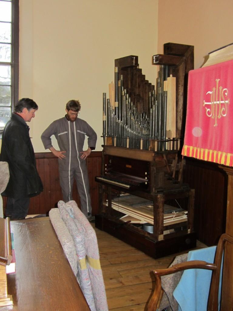 William Allen Chamber Organ in Argyllshire - Goetze & Gwynn